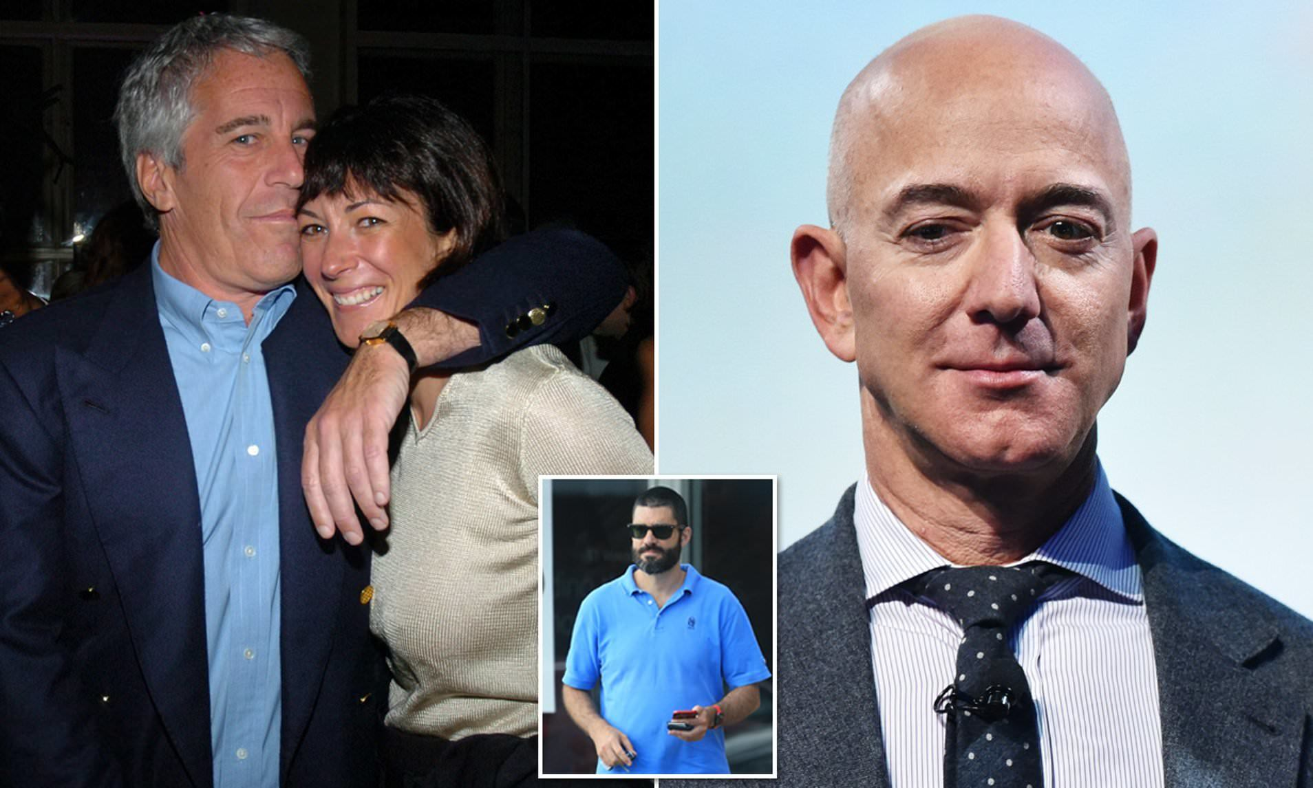 Ghislaine Maxwell、Jeff Bezos1
