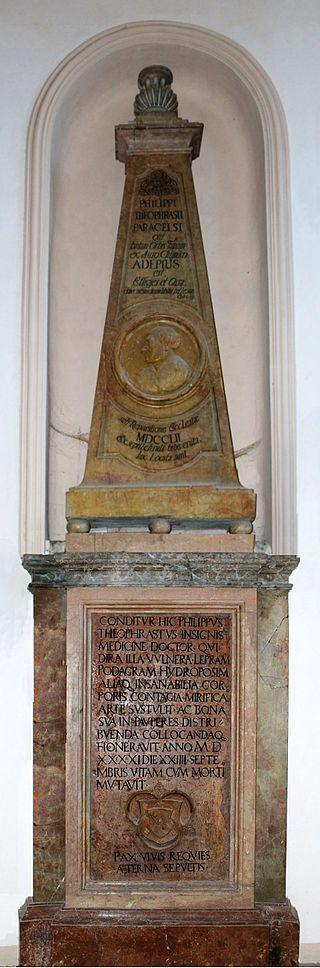 ザルツブルクのパラケルススの墓