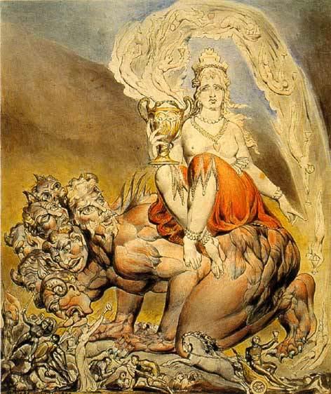 『大淫婦バビロン』 ウィリアム・ブレイク
