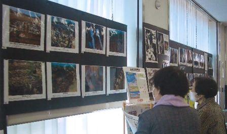 関市十六銀行で原爆展21年3月