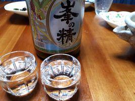 """【写真】君津の地酒(宮崎酒造店) """"峯の精 本醸造酒"""""""