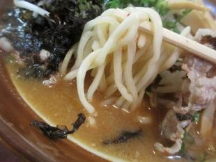 こまどり ゴマダレ味噌ラーメン 麺スープ