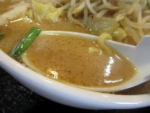 一品香岩室 濃厚味噌ラーメン スープ