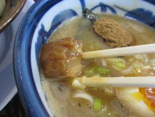 大舎厘亀田 濃厚つけ麺 チャーシュー
