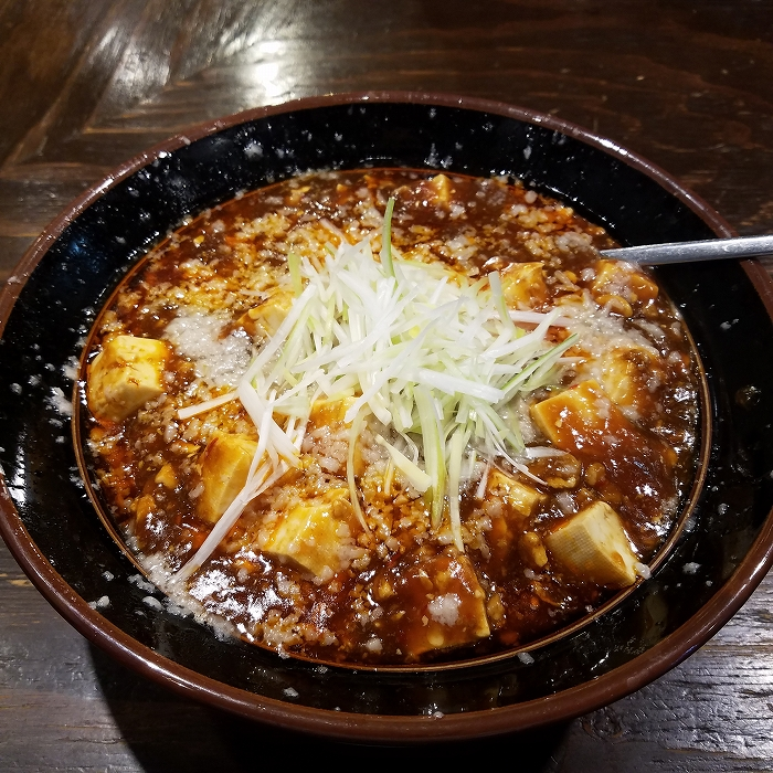 たまる屋女池 背脂麻婆麺