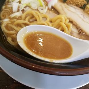 大舎厘亀田 濃厚ラーメン スープ