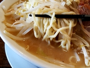 ダルマ食堂 ちゃんタンメン 麺スープ