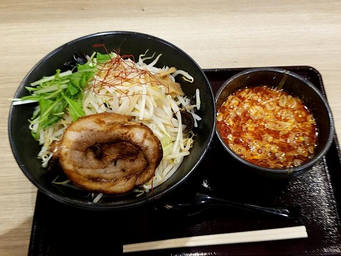 ふじのイオン新潟南 辛つけ麺