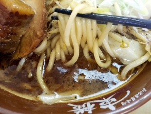 東横紫竹山店 東じろう 麺スープ