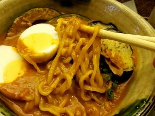 海老勢 海老勢カレーラーメン 麺