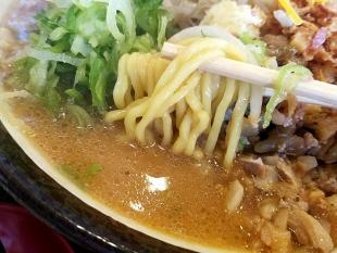 まごころ亭 白めしセット 霜降味噌ラーメン 麺スープ