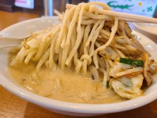 フタツメ白根 濃厚タンメン 麺スープ