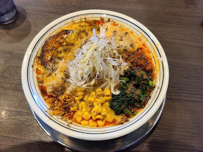 まっくうしゃ笹口 味噌担々麺