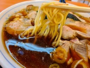 あおきやムサシ店 チャーシュー麺 麺スープ