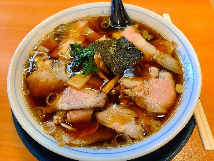 あおきやムサシ店 チャーシュー麺