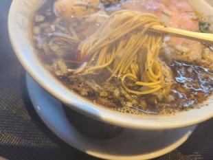 清水三条店 六日町ブラック 麺スープ