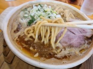 高野 味噌ラーメン 麺スープ