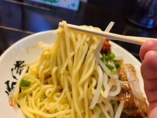 猫満 濃厚味噌つけ麺 麺