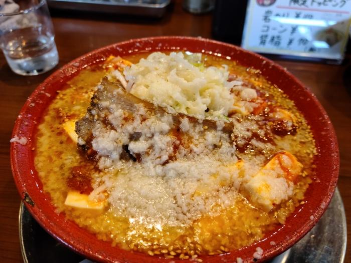 ちゃーしゅうや武蔵女池 辛味噌麻婆麺