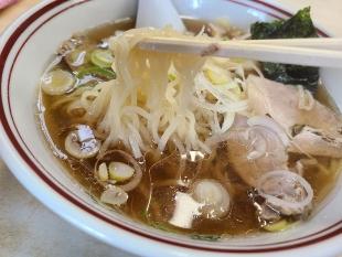 麗人 ラーメン中 麺スープ