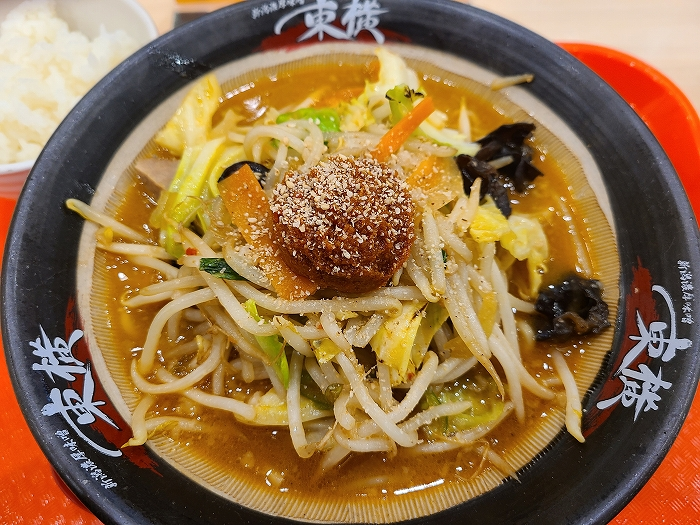 東横新発田 辛味噌野菜