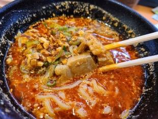 かっぱ寿司 担々麺 (3)
