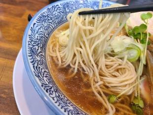スガ井 煮干し中華ソバ 麺スープ