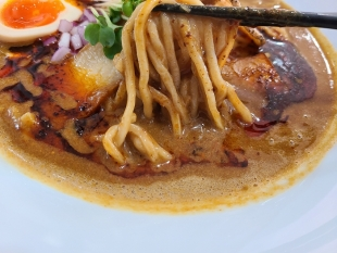 SUN カレポタ担々麺 麺スープ