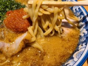 創 辛味噌白湯麺 麺スープ