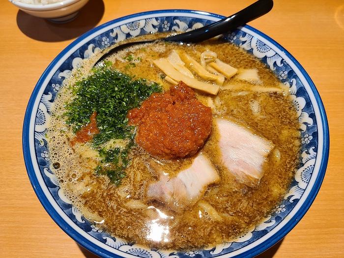 創 辛味噌白湯麺