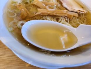 ラーチャン家長岡 冷やしラーメン スープ