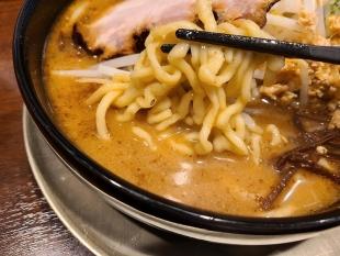 我駆 味噌らーめん 麺スープ