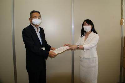 男女平等社会実現に向けた岐阜県への要請