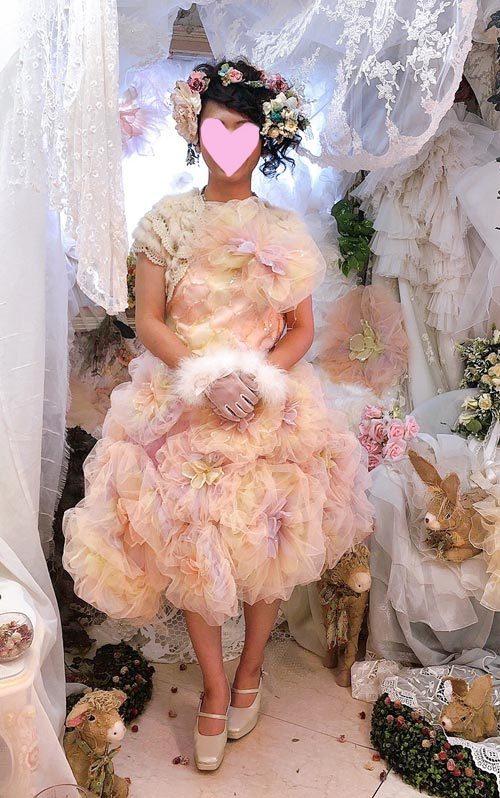 そっくりなドレス