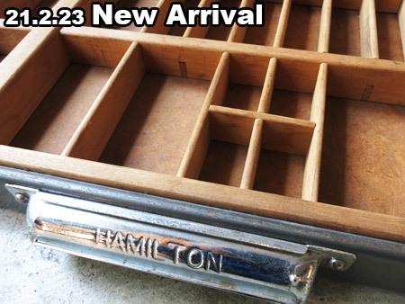ハミルトン社製 木製プリンタートレイ