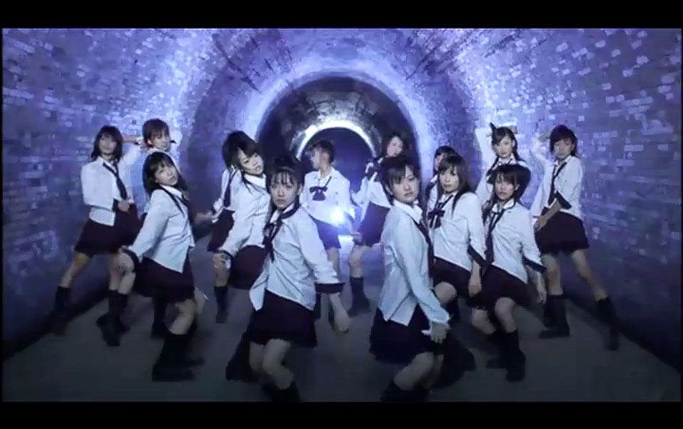 畑トンネル(心霊スポット) AKB48「制服が邪魔をする」PV