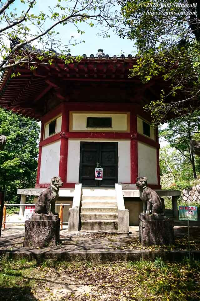 六角堂(前田家記念堂・心霊スポット) 外観