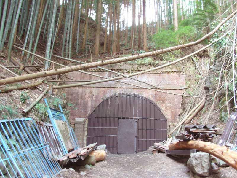 古吹上トンネル南側坑口