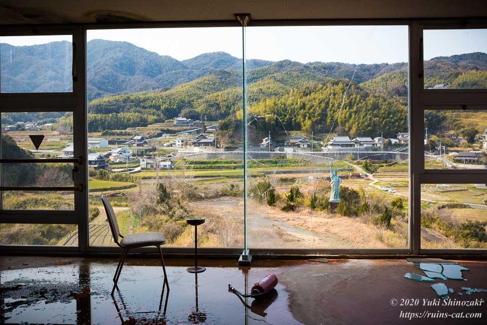世界平和大観音(平和観音寺) 3階展望室