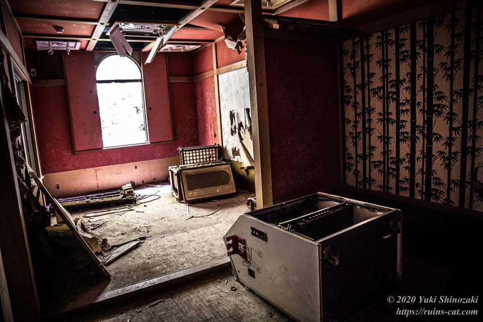 ホテル活魚(油井グランドホテル) 2階和室