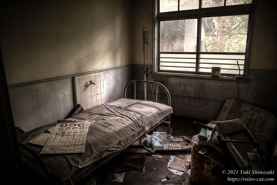 実方眼科医院(S眼科医院) ベッドのある病室
