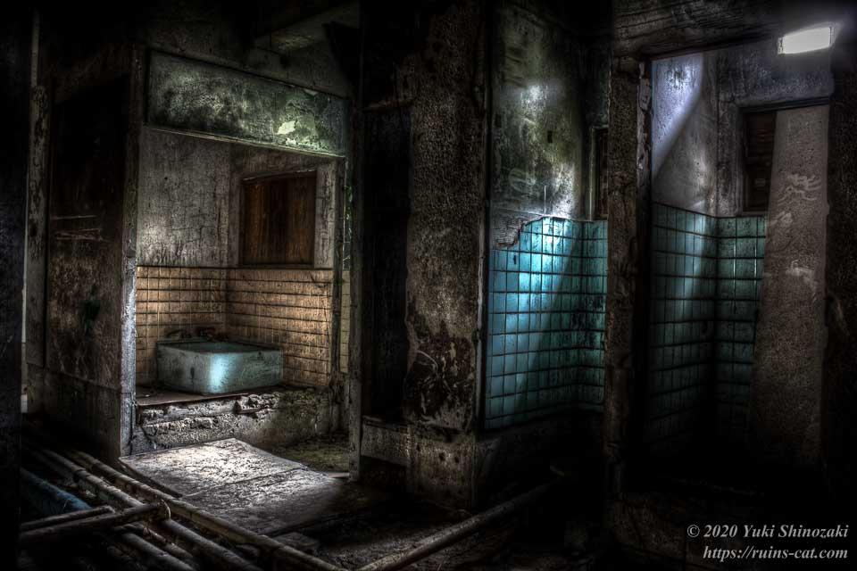 小和清水の惨殺屋敷(千葉のホワイトハウス) 1階内部