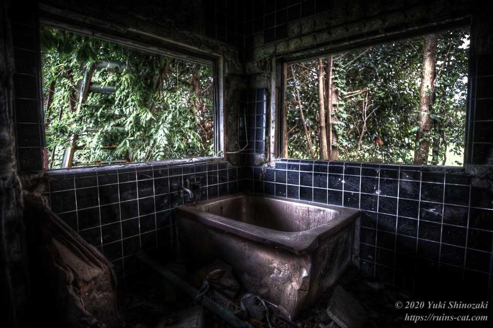 茨城のホワイトハウス(心霊スポット) 風呂場