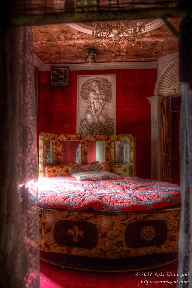 モーテル風林 デラックス洋室「蘭」