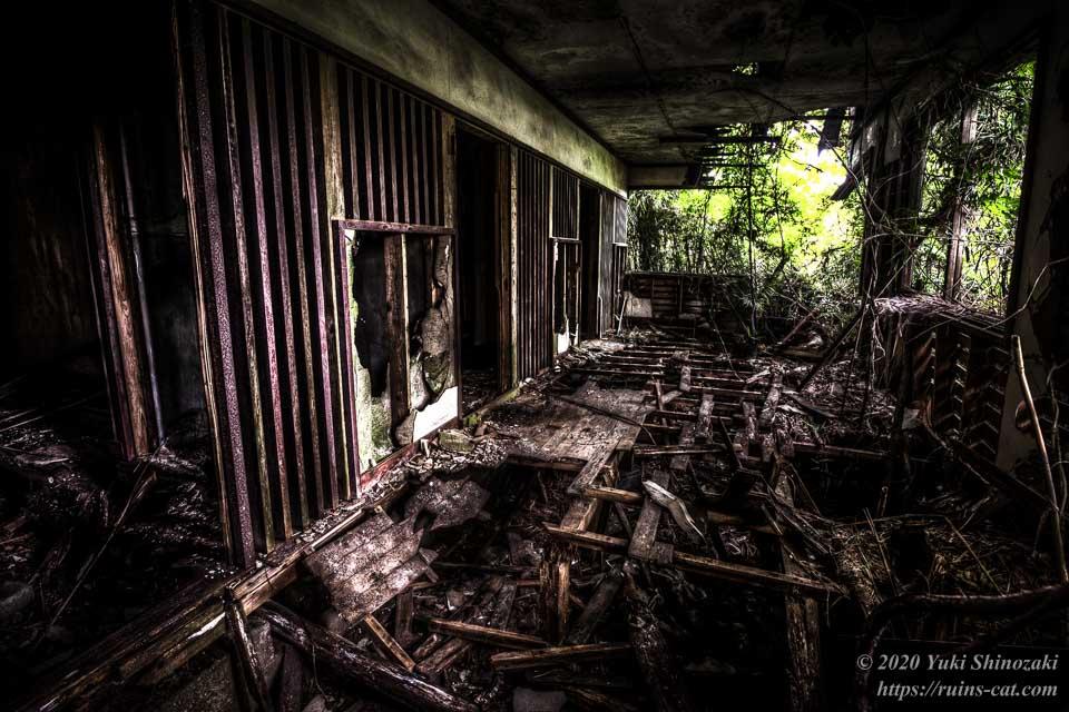 小川脳病院(聖仁会小川病院 心霊スポット) L5発症した最重症患者を隔離するための閉鎖病棟