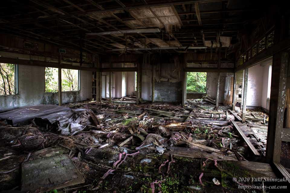 スカイレスト ニュー室戸 旧遊戯室と思われる部屋