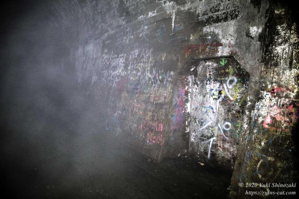 矢板トンネルはさらに奥まで続いてゆく