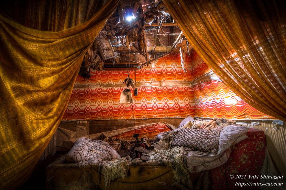 モーテル風林 和室「橘」内部