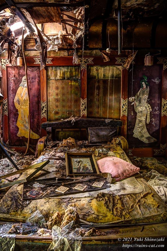 モーテル風林 和室「桐」内部
