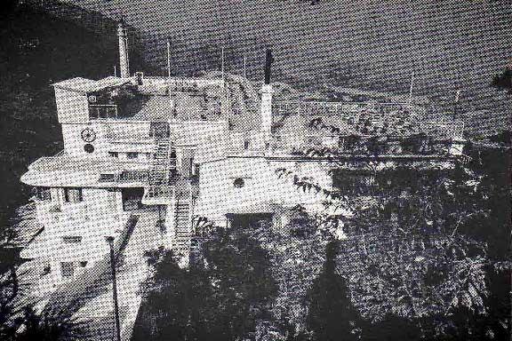 摩耶観光ホテルの営業当時の外観